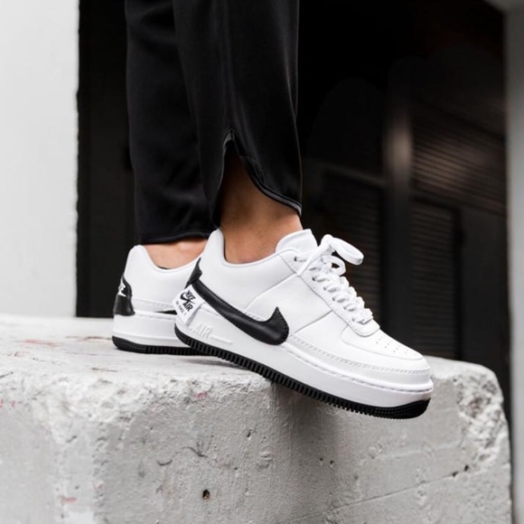 air force 1 jester white and black